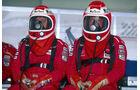McLaren - 1996 - Mechaniker - Helme - Formel 1
