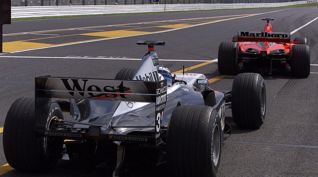 McLaren 2001