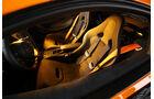 McLaren 570S, Fahrersitz