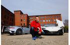 McLaren 650s Spider, Porsche 911 Turbo S Cabriolet, Christian Gebhardt