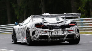 McLaren 675LT Rennversion MV715-23 Erlkönig