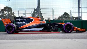 McLaren - Anstellung - Abmessungen 2017