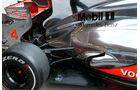 McLaren Auspuff 2012