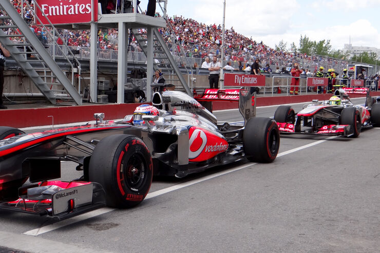 McLaren - Button & Perez - GP Kanada 2013