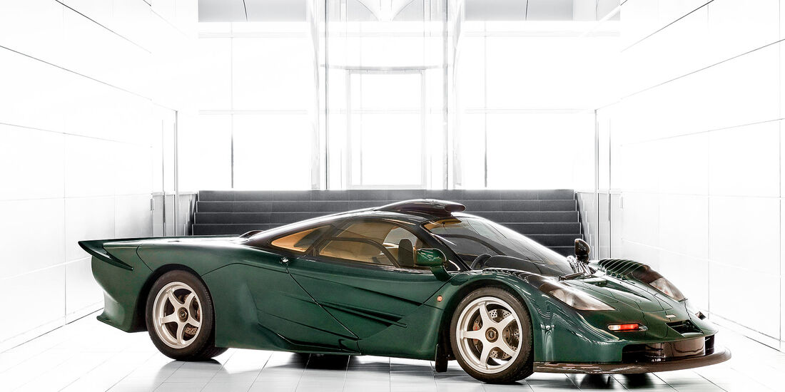 McLaren F1 XP GT in XP Green (1997)