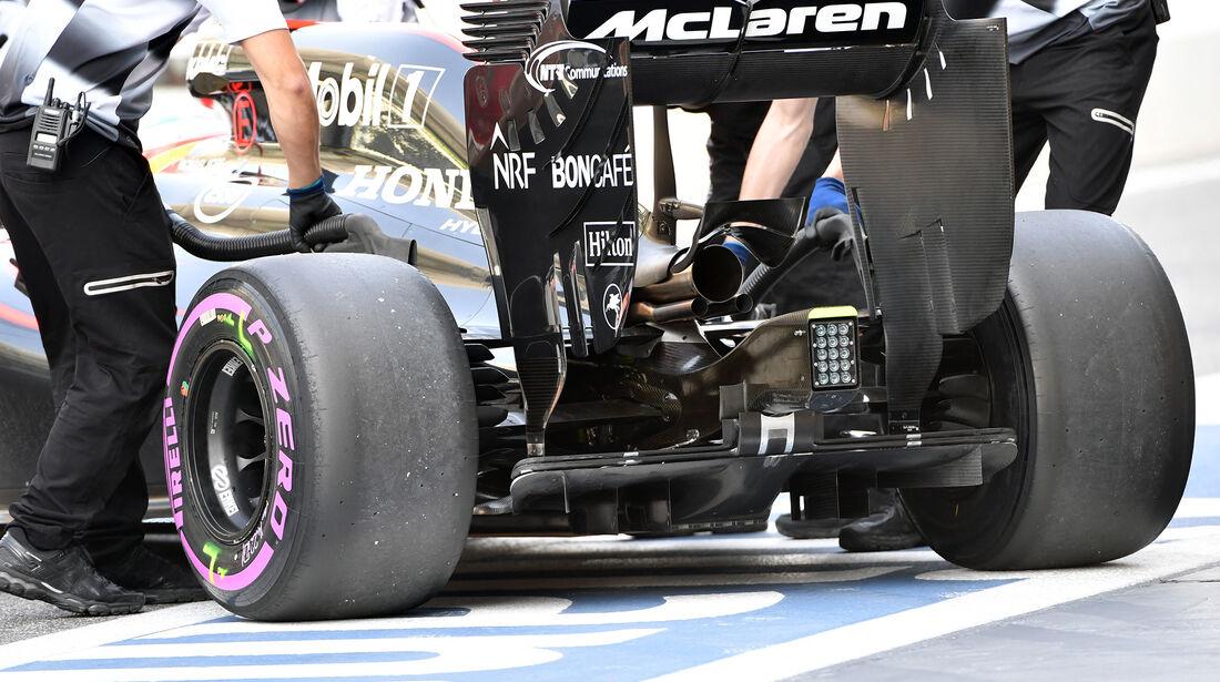 McLaren - Formel 1 - GP Abu Dhabi - 26. November 2016
