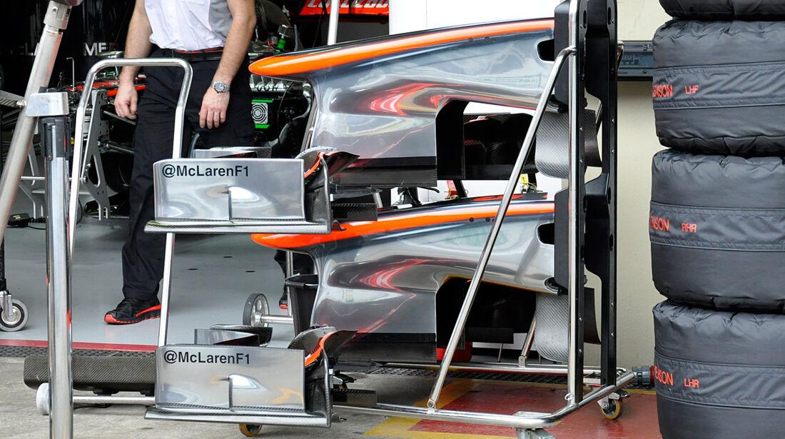McLaren - Formel 1 - GP Brasilien - 22. November 2013