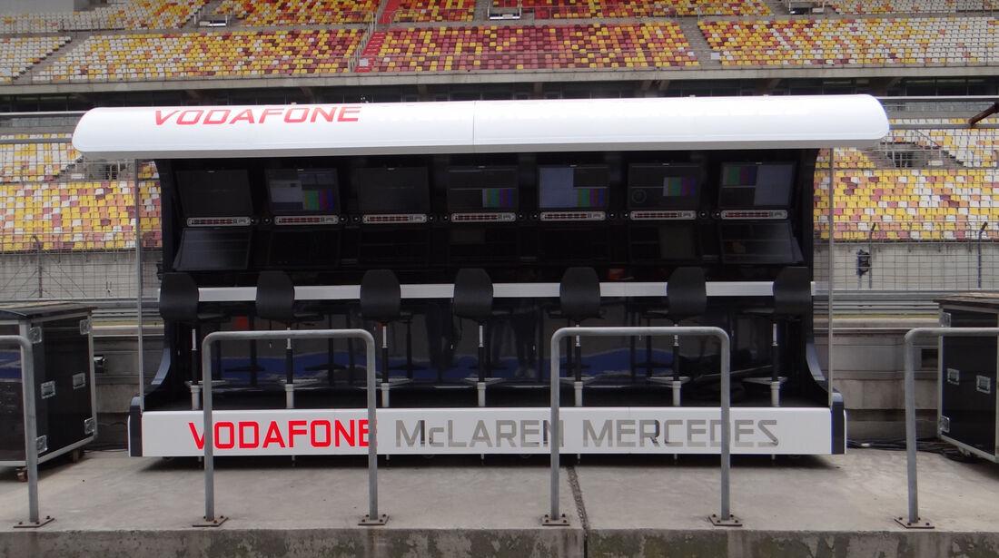 McLaren - Formel 1 - GP China - 11. April 2013