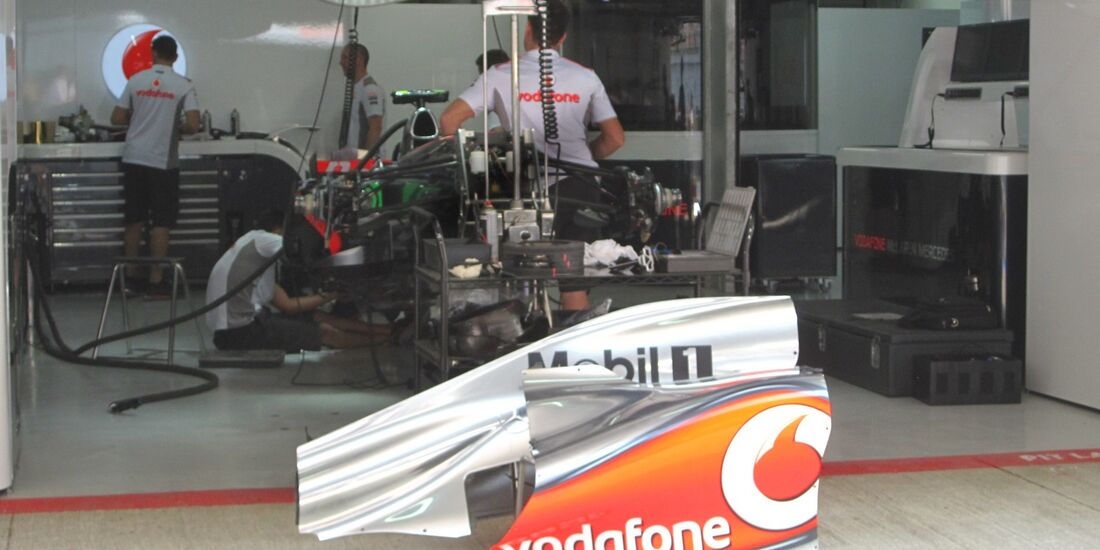 McLaren  - Formel 1 - GP Indien - 25. Oktober 2012
