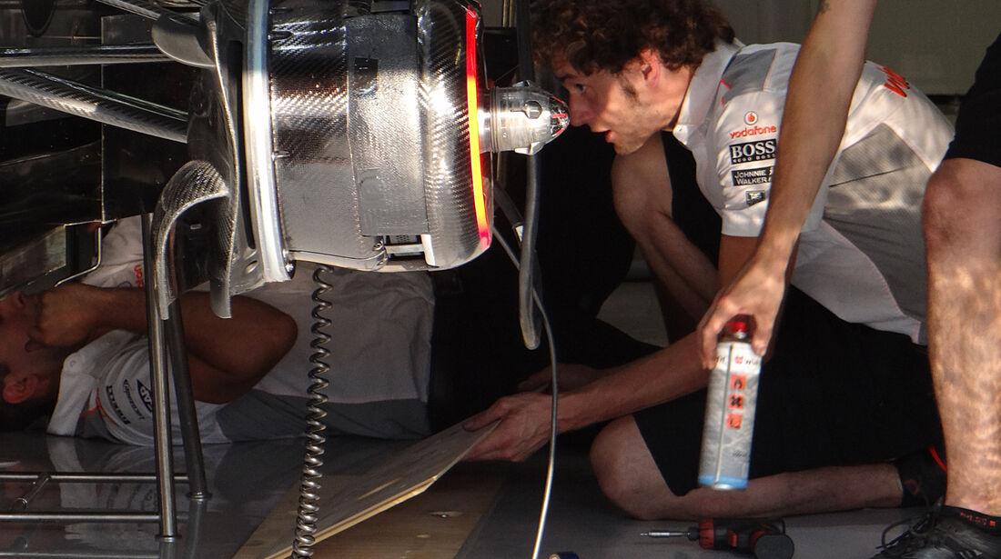 McLaren - Formel 1 - GP Italien - Monza - 5. September 2013