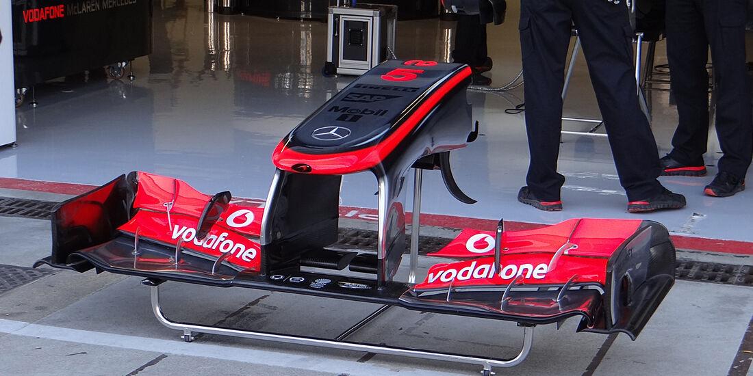 McLaren - Formel 1 - GP Italien - Monza - 6. September 2013