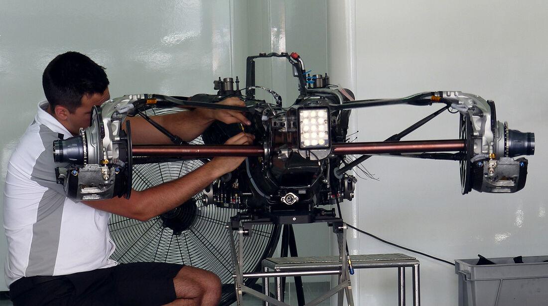 McLaren - Formel 1 - GP Malaysia - Sepang - 27. März 2014