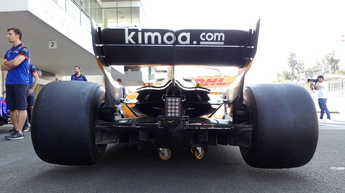 McLaren - Formel 1 - GP Mexiko - 25. Oktober 2018