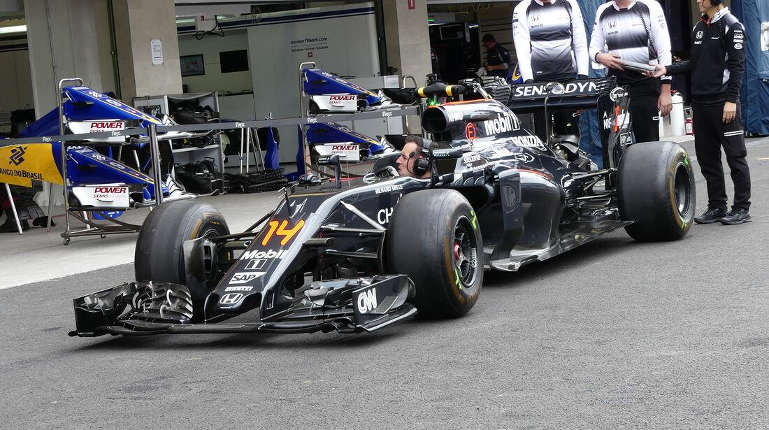 McLaren - Formel 1 - GP Mexiko - 27. Oktober 2016