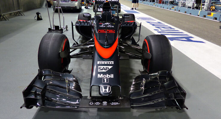 McLaren - Formel 1 - GP Singapur - 17. September 2015
