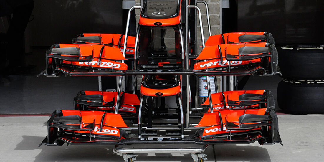 McLaren - Formel 1 - GP USA - 14. November 2013