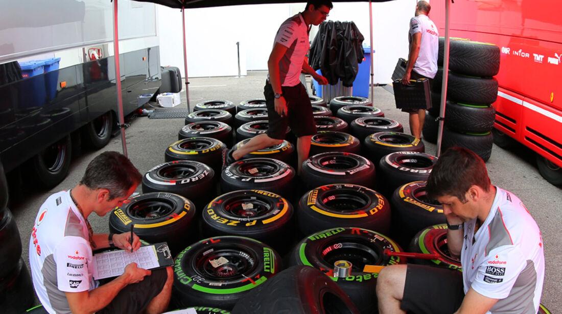 McLaren - Formel 1 - GP Ungarn - Budapest - 26. Juli 2012