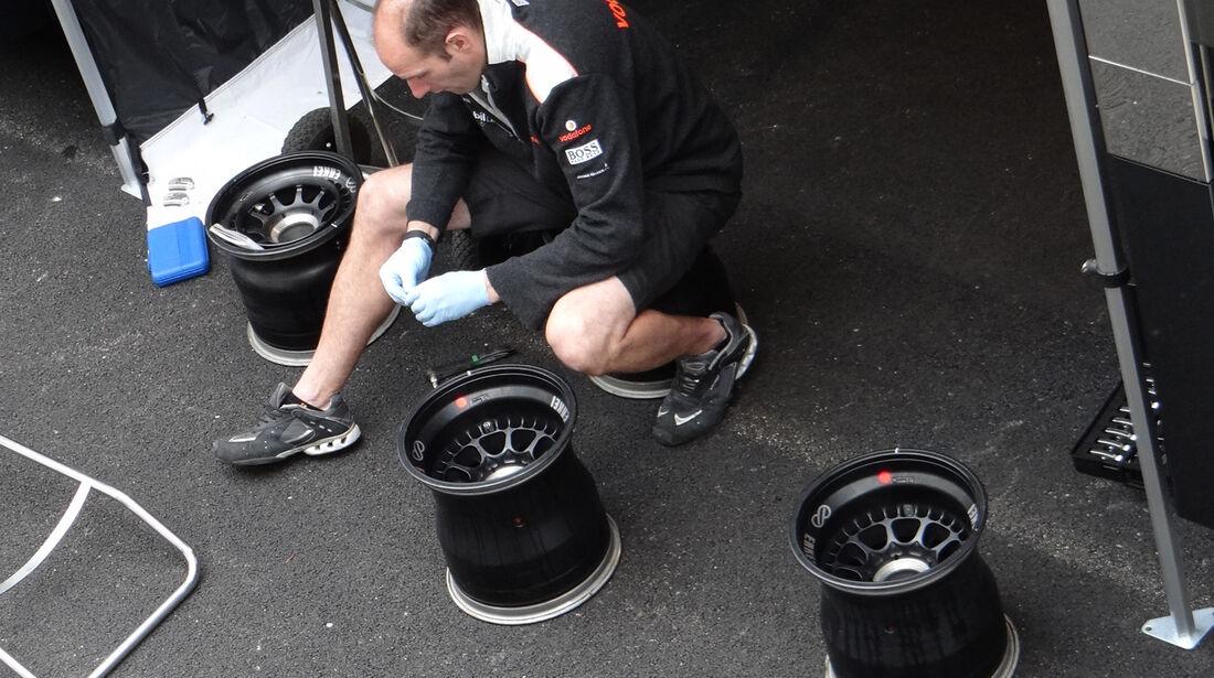 McLaren - Formel 1-Test - Mugello - 3. Mai 2012