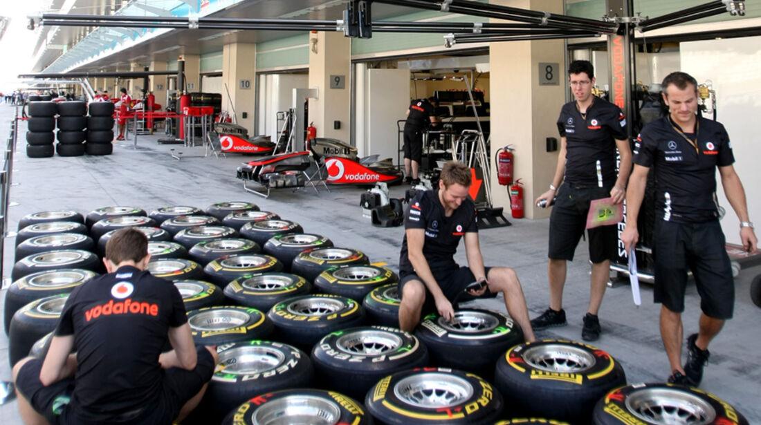 McLaren - GP Abu Dhabi - 10. November 2011