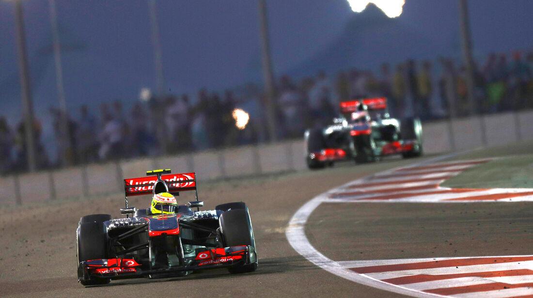 McLaren - GP Abu Dhabi 2013