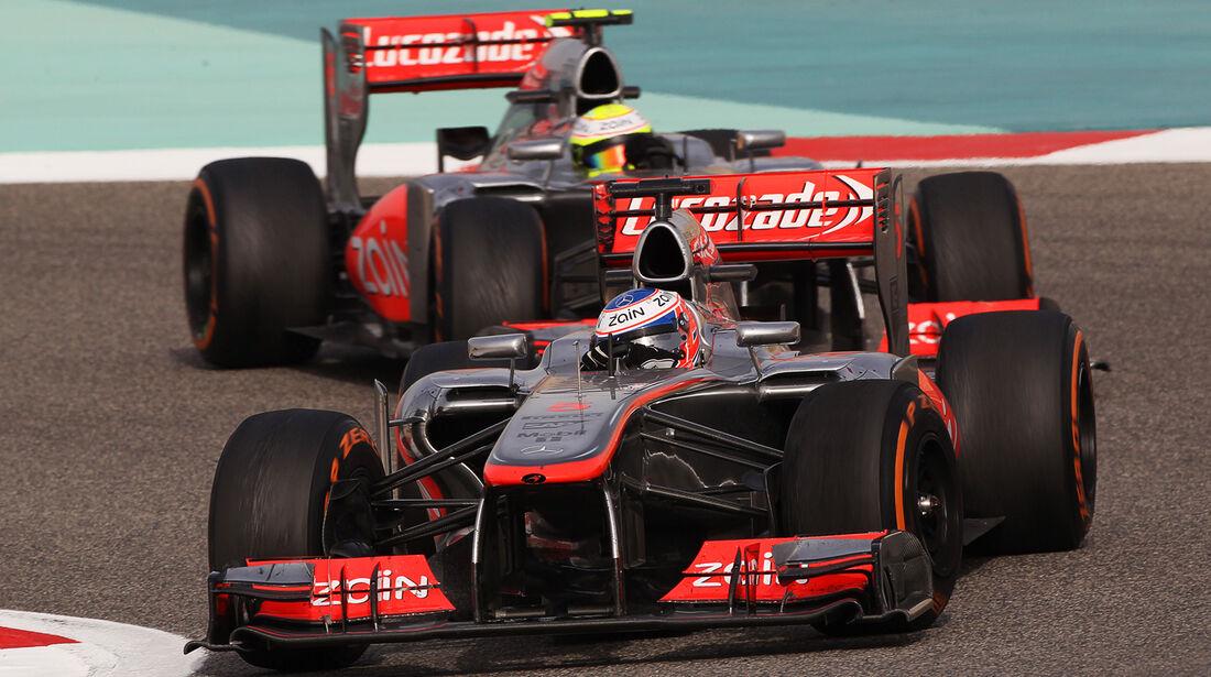 McLaren - GP Bahrain 2013