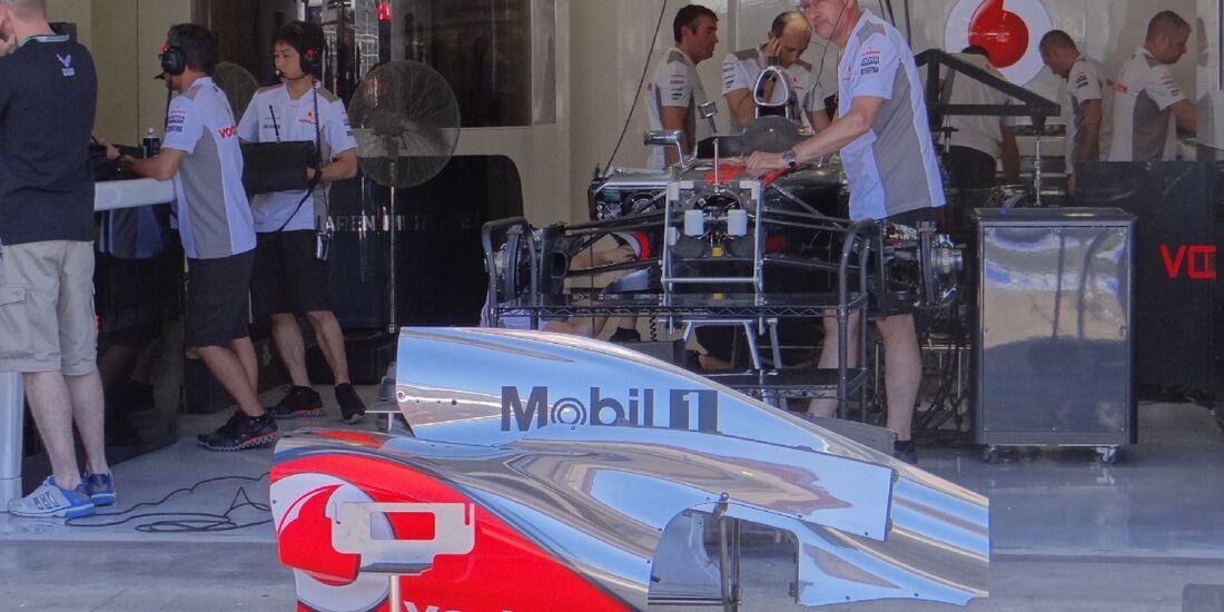 McLaren - GP Europa - Valencia - 21. Juni 2012