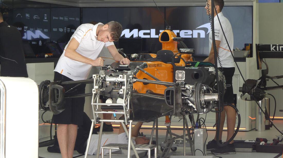 McLaren - GP Russland - Sotschi - Formel 1 - Donnerstag - 27.9.2018