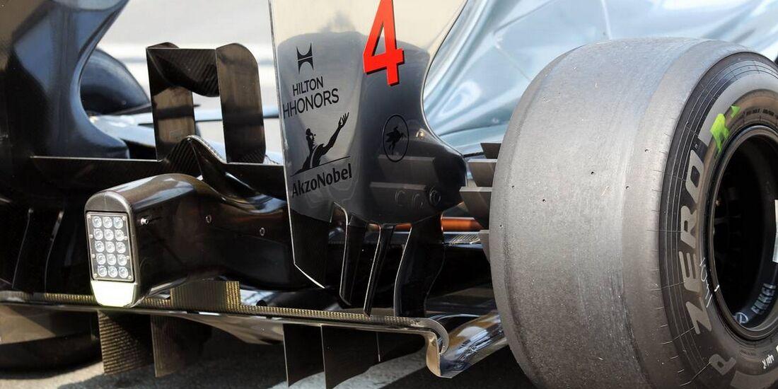 McLaren Heck - Formel 1 - GP Indien - 26. Oktober 2012