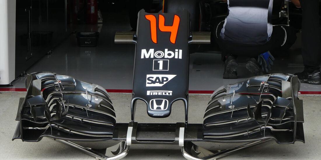 McLaren-Honda - Formel 1 - GP Japan - Suzuka - Freitag - 7.10.2016