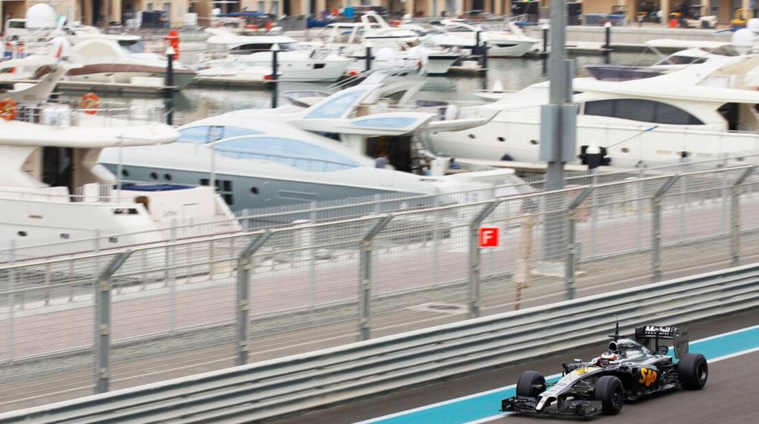 McLaren-Honda - Formel 1 Test - Abu Dhabi - 25. November 2014
