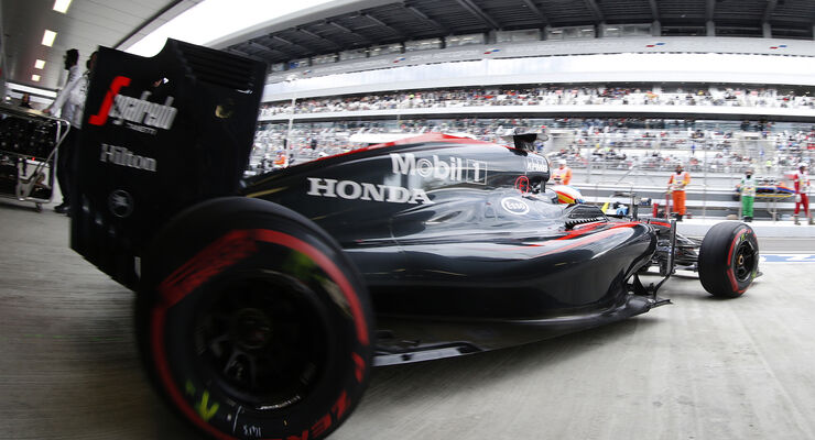McLaren-Honda - GP Russland - 2015
