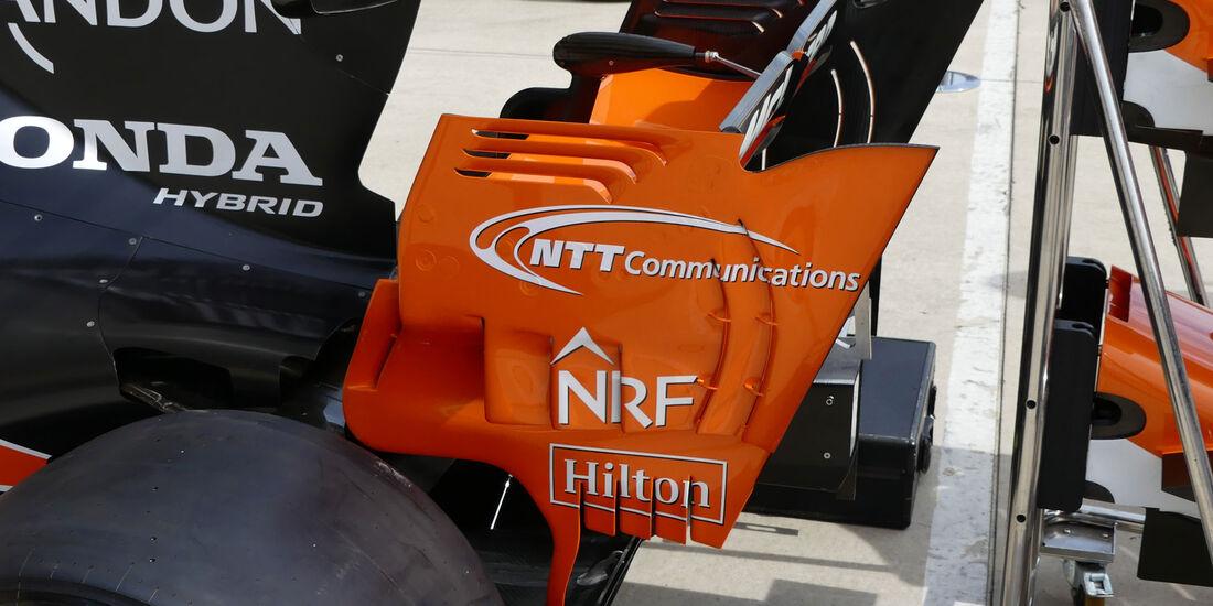 McLaren-Honda - GP USA - Austin - Formel 1 - Donnerstag - 19.10.2017