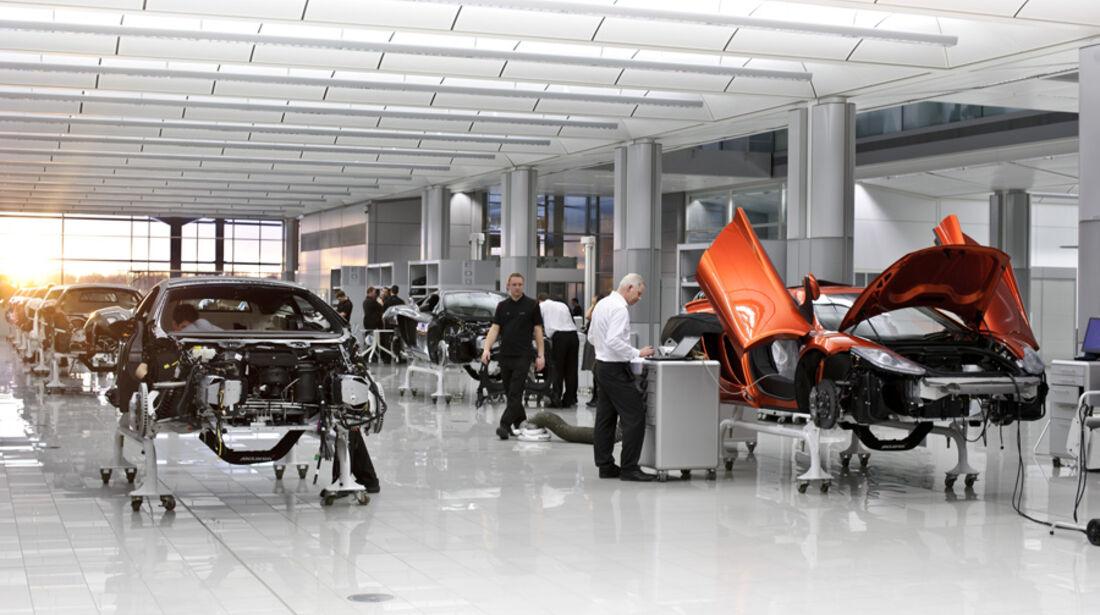 McLaren MP4-12C, Motorenwerk
