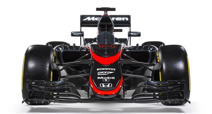 McLaren MP4-30 - Lackierung Barcelona 2015