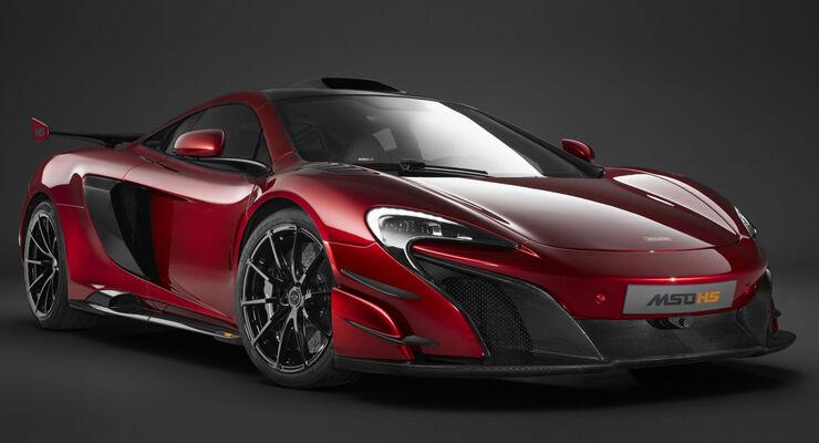 McLaren MSO HS - Supersportwagen - Biturbo-V8