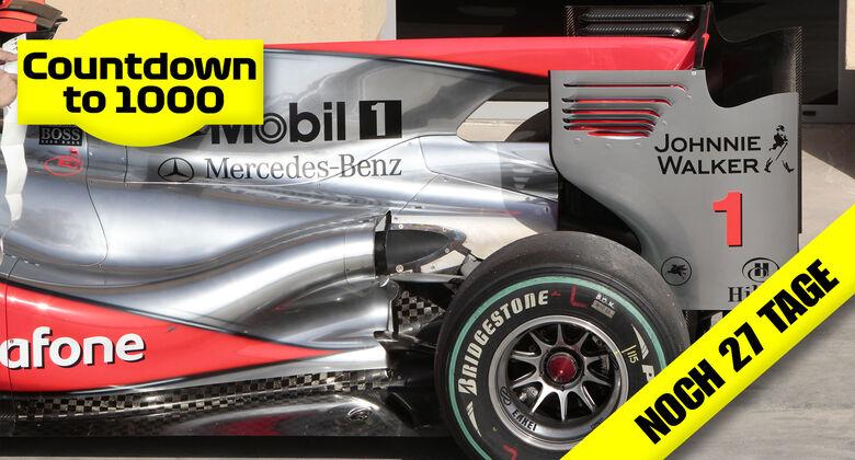 McLaren-Mercedes MP4-25 - F1