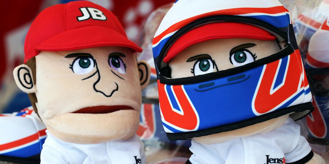 McLaren-Puppen - Formel 1 - GP Japan - Suzuka - 6. Oktober 2012