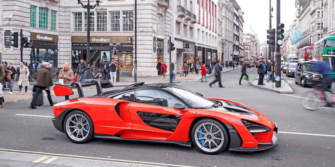 McLaren Senna - Serie - Supersportler - sport auto Award 2019