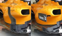 McLaren - Technik - GP China / GP Bahrain - F1 2018