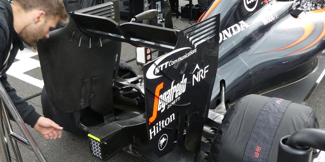 McLaren - Technik - GP England / GP Österreich - Formel 1 - 2016