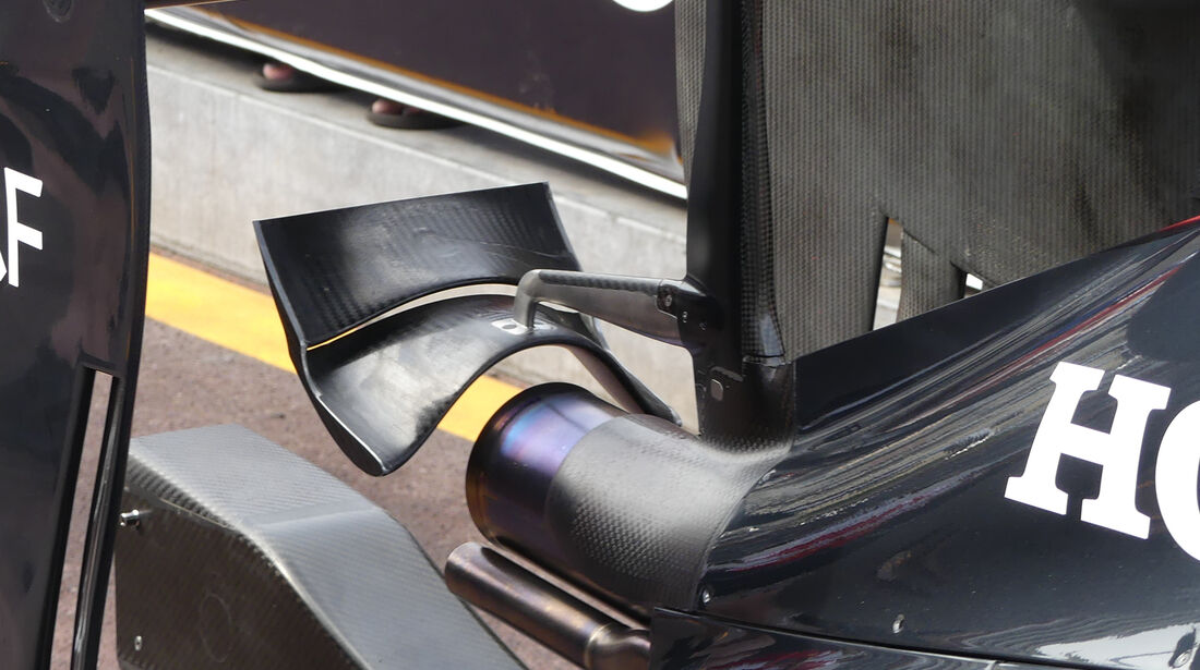 McLaren - Technik - GP Monaco 2016