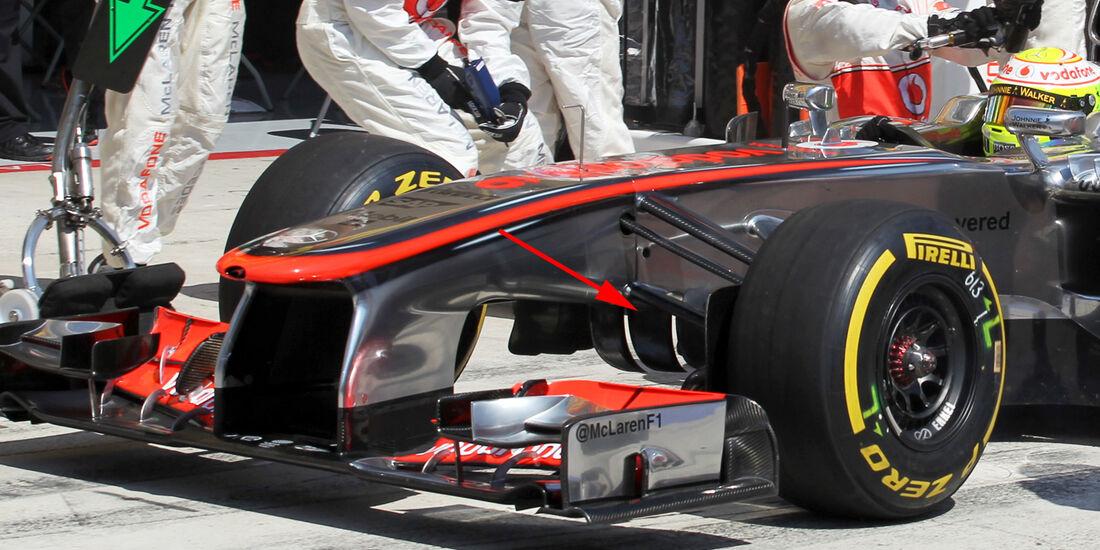 McLaren - Technik - GP Ungarn 2013