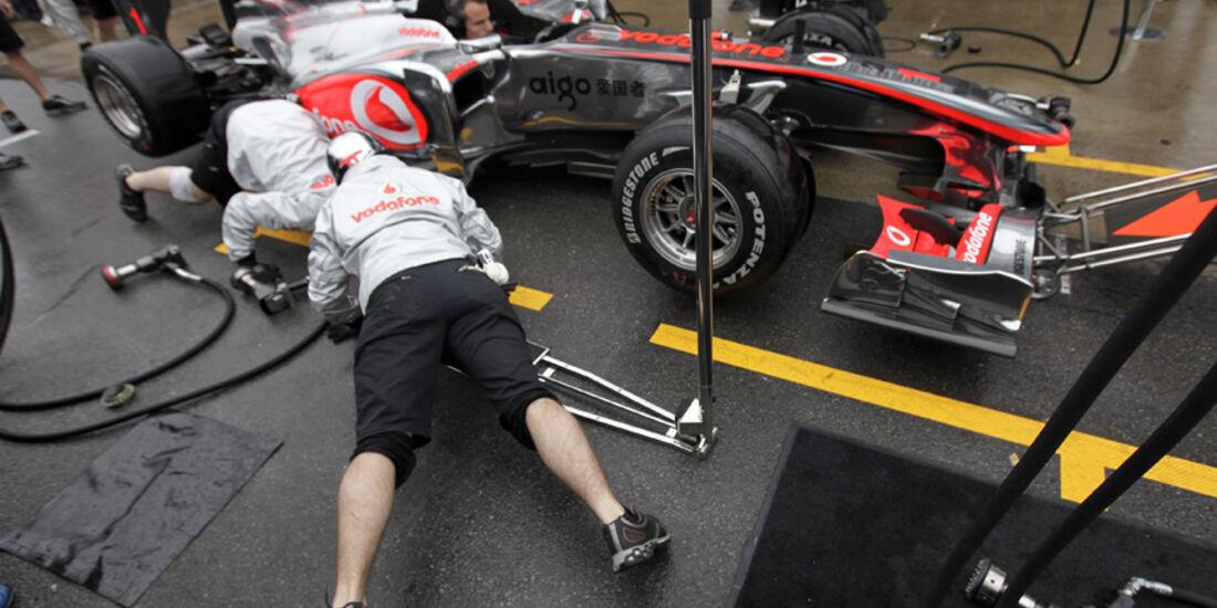 McLaren in Montreal 2010