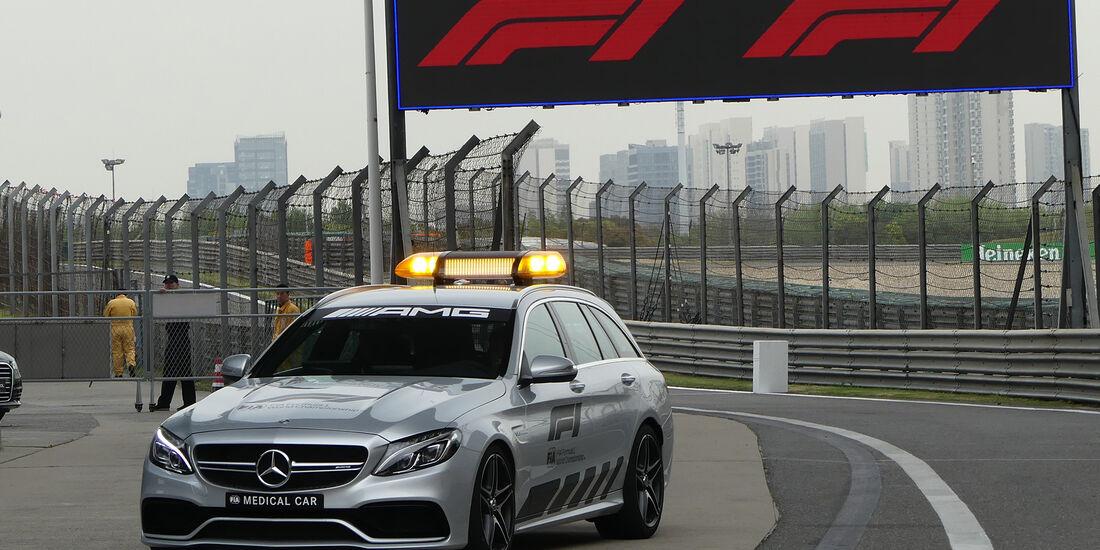Medical-Car - Formel 1 - GP China - Shanghai - 12. April 2018