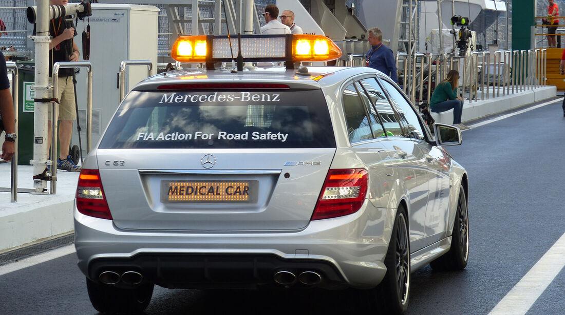 Medical-Car - Formel 1 - GP Russland - Sochi - 9. Oktober 2014