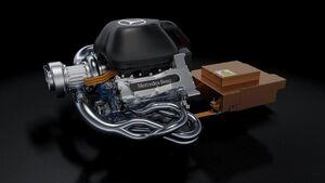 Mercedes 1,6 Liter V6 Turbo - 2014