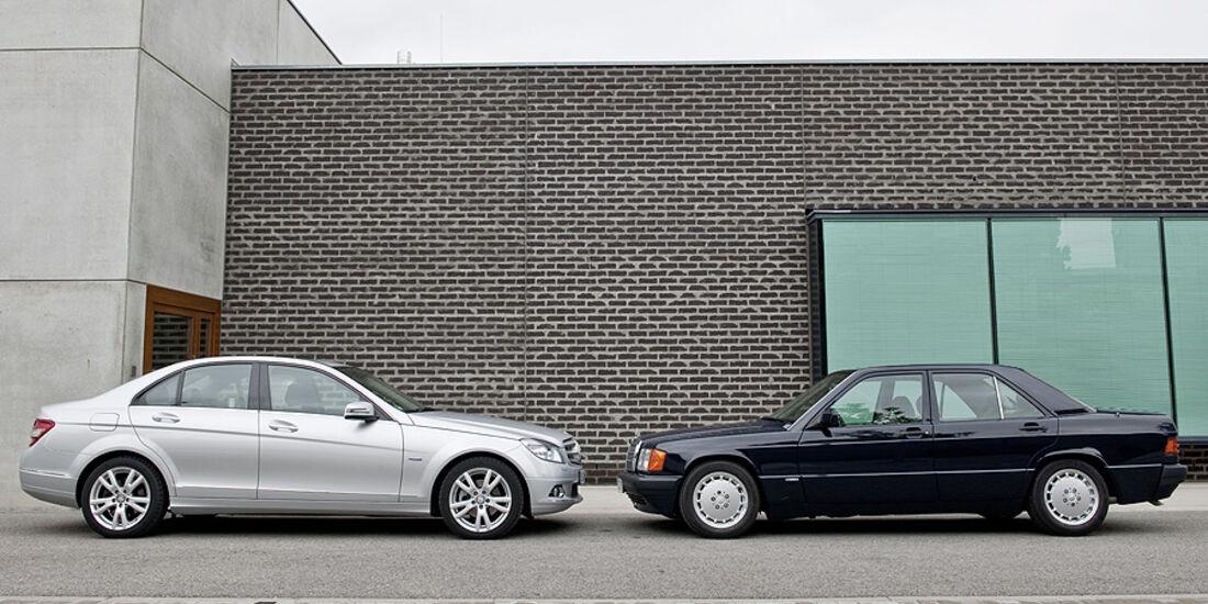 Mercedes 190 D BlueEfficiency