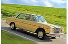 Mercedes 200 D Automatik, Seitenansicht