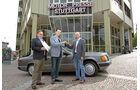 Mercedes 230 CE zu gewinnen