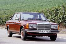 Mercedes 230 E (W123), Frontansicht